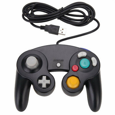 For Nintendo GameCube USB Classic Wired Controller Pad toPC MAC Game AccessoryTO