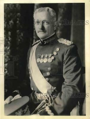 1937 Press Photo General John J. Pershing in full dress uniform, Washington