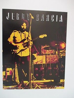 JERRY GARCIA Grateful Dead POSTER Made By Winterland PROMO POSTERS