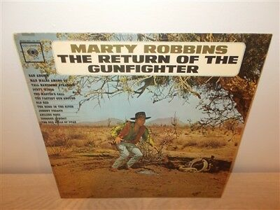 Marty Robbins . More Gunfighter Ballads And Trail Songs . LP