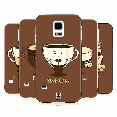 Head Case Designs Coffee Personalities Black Slider Case For Samsung Phones