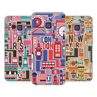 Head Case Designs Country Landmarks Soft Gel Case For Samsung Phones 1