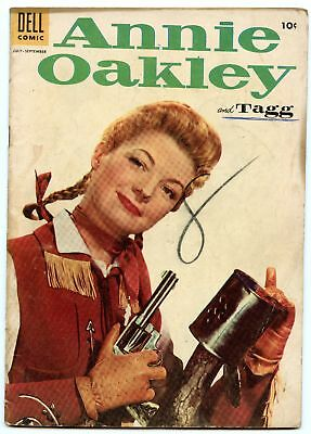 Annie Oakley and Tagg 4 Sep 1955 VG (4.0)