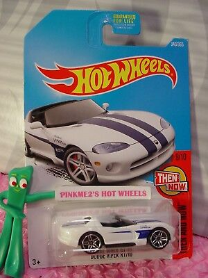 Dodge Viper RT//10 neu in OVP Then and Now 340 HOT WHEELS 2017
