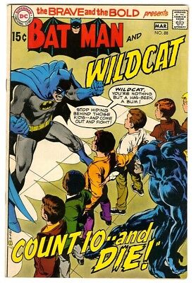 Brave and the Bold #88 (1970) VF/NM New DC Collection Cover art by Neal Adams
