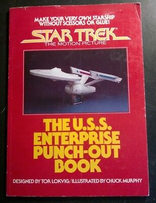 Star Trek: The Motion Picture - The U.s.s. Enterprise Punch-Out Book