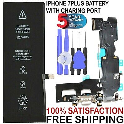 NEW iPhone 7 PLUS Replacement Battery 616-00249 2900mAh FREE TOOLS