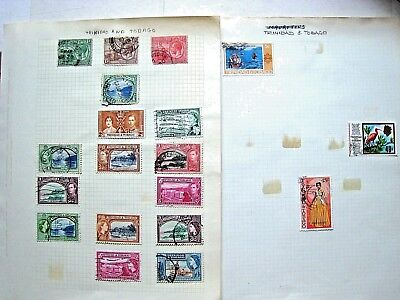 Unchecked Selection Of Trinidad & Tobago Stamps.  Lot#243