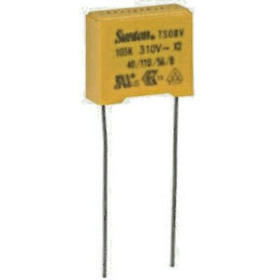 18667 Polyprop Film Capacitor         0.01uF ±10/% 310VAC X2 RATED