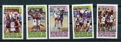 Zentralafr. Rep. MiNr. 697-01 postfrisch MNH Olympia 1980 (Oly1295