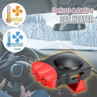 Defrost and Defog Car Heater Mini Electric Fan Heated Windshield Windows Glass