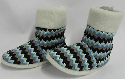 Gold Coast Ladies Knitted Slipper Bootie Large (9- 10.5)