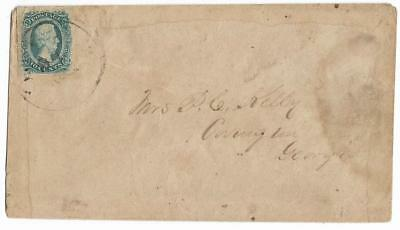 CSA Cover to Mrs. P.O. Kelly in Covington, Ga. with CS #11 Stamp