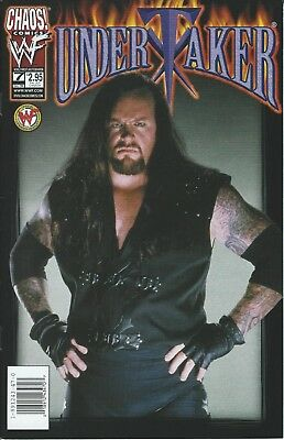 Undertaker Wwf/wwe Wrestling Licensed Chaos Comic Book #7 New