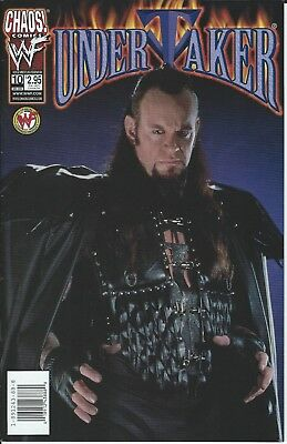 Undertaker Wwf/wwe Wrestling Licensed Chaos Comic Book #10 New