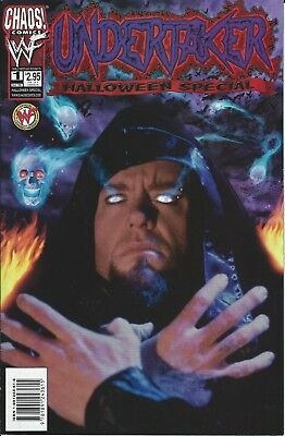 Undertaker Halloween Special Wwf/wwe Wrestling Licensed Chaos Comic Book #1 New