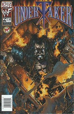Undertaker Wwf/wwe Wrestling Licensed Chaos Comic Book #7 October 1999 New