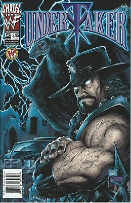 Undertaker Wwf/wwe Wrestling Licensed Chaos Comic Book #5 August 1999 New