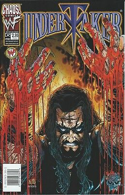 Undertaker Wwf/wwe Wrestling Licensed Chaos Comic Book #6 September 1999 New