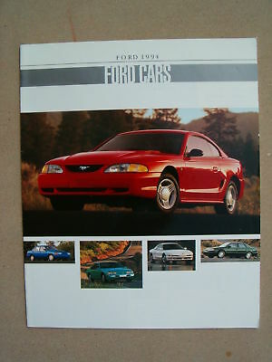 1994 Ford Cars Dealer Sales Brochure