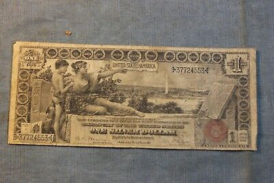 Lot 17 1886 United States 1 Dollar Bill Large Note Nr