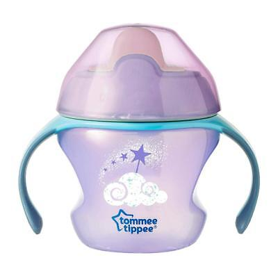 Tommee Tippee Weaning Sippee 4 Months+ Cup, Purple (Colours May Vary)