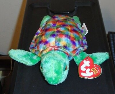 68ab47d5a1e NMT  Ty Beanie Baby ~ ZOOM the Turtle (6 Inch) MWNMT