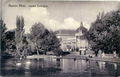 Buenos Aires Zoological Garden - Old Postcard View