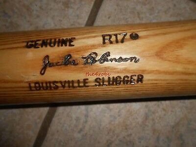 Unused Louisville Slugger Genuine R17 Jackie Robinson Tempered Baseball Bat