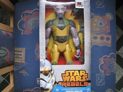 Hasbro STAR WARS Rebel`s GARAZEB ORRELIOS Hero Serie 30cm Science Fiction Figur