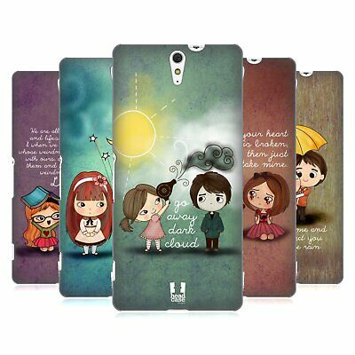 Head Case Designs Cute Emo Love Hard Back Case For Sony Phones 2