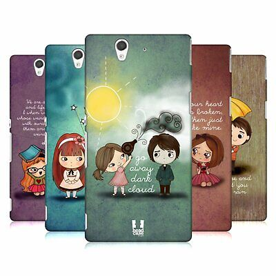 Head Case Designs Cute Emo Love Hard Back Case For Sony Phones 3