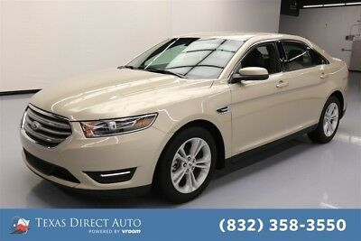 2017 Ford Taurus SEL Texas Direct Auto 2017 SEL Used 3.5L V6 24V Automatic FWD Sedan Premium