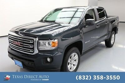 2017 GMC Canyon 4WD SLE Texas Direct Auto 2017 4WD SLE Used 3.6L V6 24V Automatic 4WD Pickup Truck