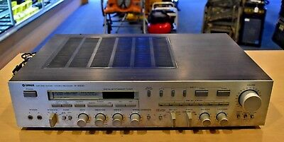 Vintage Yamaha R-2000 AM/FM Stereo Receiver SOLD AS IS For Parts No Reserve!