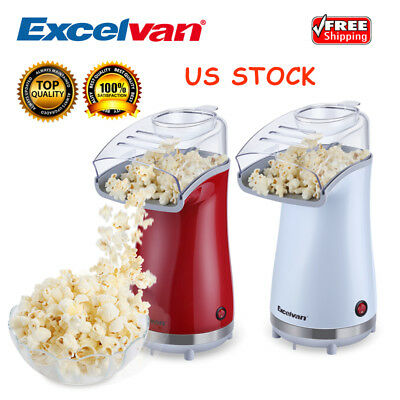 HOT AIR Popcorn Maker Household Popper Machine Home Party Film Snack 16 Cups US