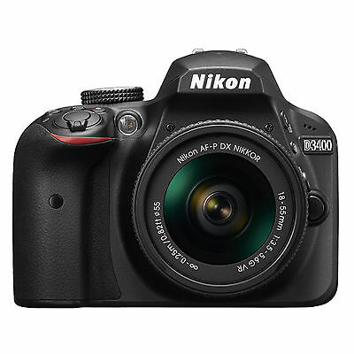Nikon D3400 AF-P 18-55mm VR Kit (Black) *NEW* *IN STOCK* *NIKON USA WARRANTY*