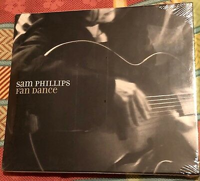 SAM PHILLIPS - FAN DANCE (RARE SEALED USA CD with SLIPCASE )