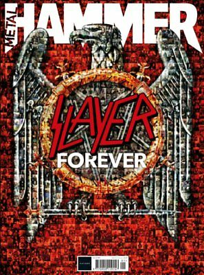 Metal Hammer Magazine JAN 2019: Slayer - Ultimate Tribute Issue & 100 Page Book