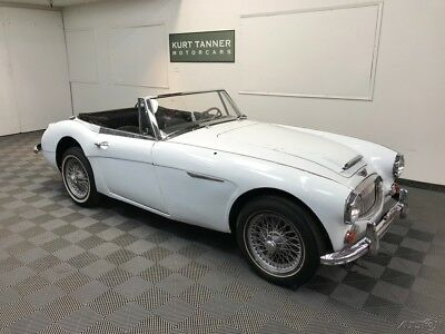 1967 Austin Healey 3000 4-SPEED WITH OVERDRIVE GEARBOX. 1967 AUSTIN HEALEY 3000 MK3 BJ-8 PHASE 2. COMPLETE, TOGETHER CAR FOR RESTORATION