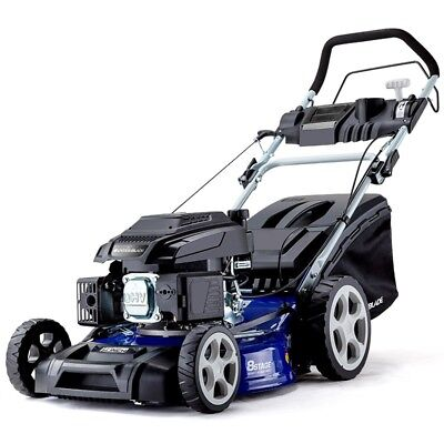 "Lawn Mower Self Propelled 19"" 165cc 4 Stroke Petrol Lawnmower Catch"