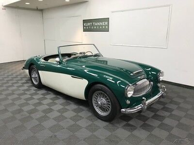 1962 Austin Healey 3000 3000 MK2 BN-7 TRI-CARB, TWO-SEATER, CENTERSHIFT. 1962 AUSTIN HEALEY 3000 MK2 BN-7 TRI-CARB 2 SEAT. 1 OF ONLY 355 PRODUCED. BMIHT.