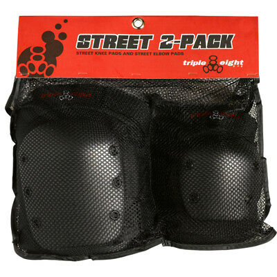 Triple Eight Pad Set Street-2 Elbow/Knee XS