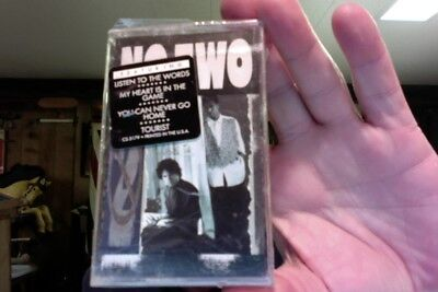 No Two- self titled- 1989- new/sealed cassette tape- rare?
