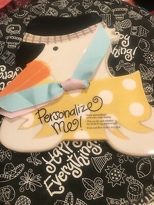 Coton Colors Happy Everything Large Stork Attachment! NWOT! Baby