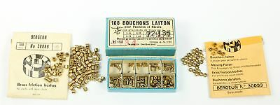 LOT OF CLOCK BUSHINGS - SWISS and BERGEON - PARTS! - OH1303