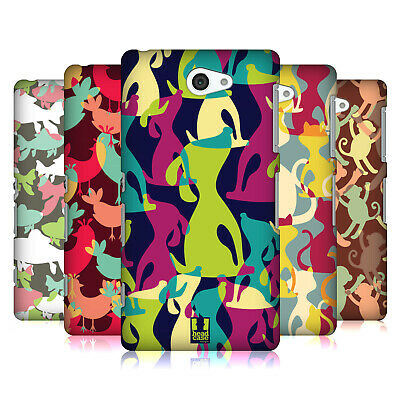 Head Case Designs Flock Of Coloured Animals Hard Back Case For Sony Phones 4