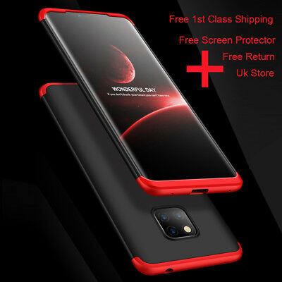 360° Full Body Cover Shockproof Hybrid Case For Huawei Mate 20 Pro Lite P20 P30