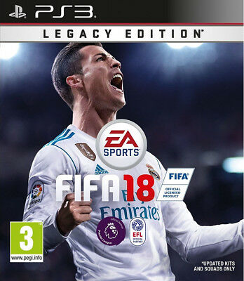 FIFA 18 PS3 Digital Download Game - Leer Descripción