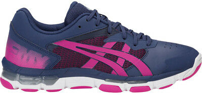 Asics Netburner Acadamy 8 Womens Netball Shoes - Blue